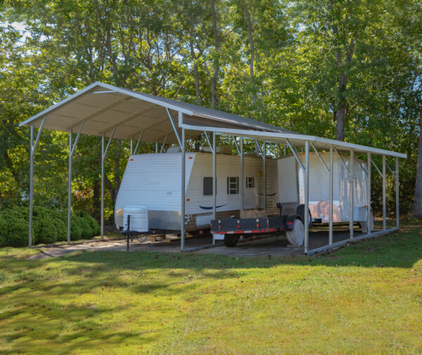 28x25x11/8Carport with Lean-To