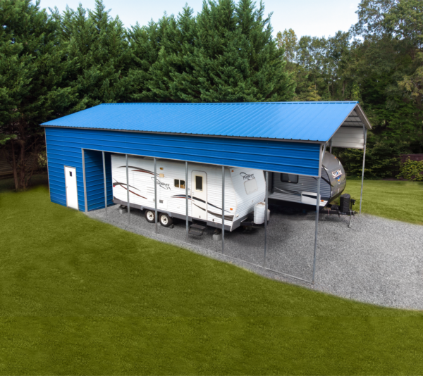 24x45x13 Combo Unit with 10-Ft Storage Space