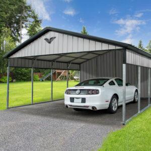 20x20x7 Vertical Carport