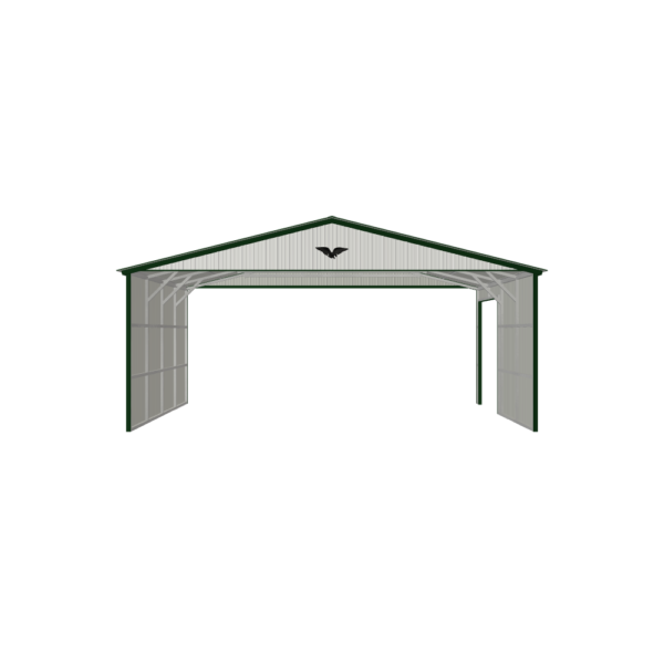 26x20x10 Carport with Sides