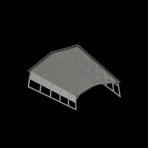 20x25x6 Metal Carport