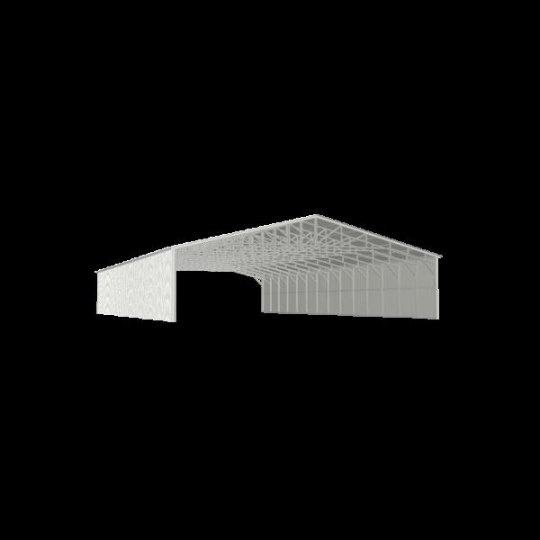 40x70x9 Commercial Carport