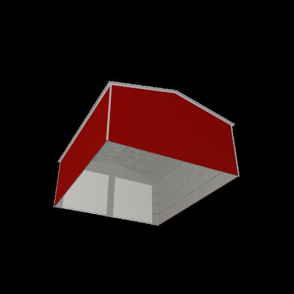 30x35x13 Double Metal Garage
