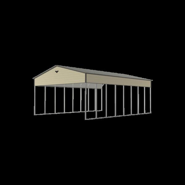 28x40x14 Metal Carport